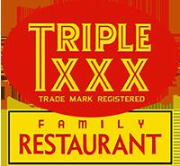 XXX Family Restaurant logo