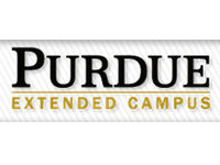Purdue logo with text extended campus