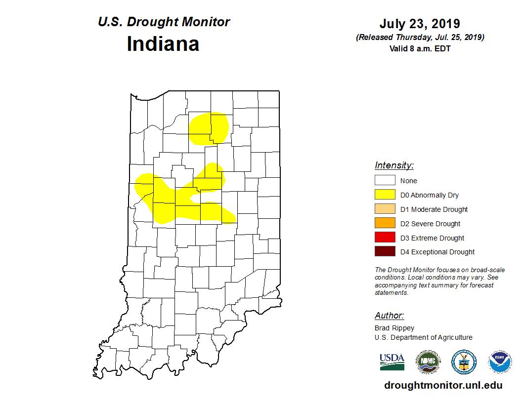 Figure 3. U.S. Drought Monitor.